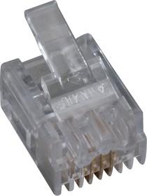 5-641335-2, Вилка телефонная на кабель TP6P4C (RJ14) (OBSOLETE)