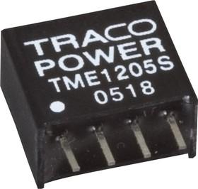 Фото 1/6 TME 0512S, DC/DC преобразователь, 1Вт, вход 4.5-5.5В, выход 12В/80мА