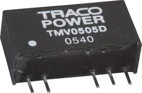 Фото 1/2 TMV 0505D, DC/DC преобразователь, 1Вт, вход 4.5-5.5В, выход 5,-5В/100мА