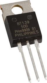 Фото 1/3 BTA140-600,127, Симистор 600V 25A [TO-220AB]