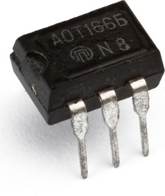 Фото 1/2 АОТ166А, Оптопара транзисторная [DIP-6] (5П32Е)