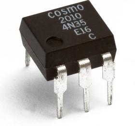 Фото 1/2 K2010C (KP2010C), Оптопара транзисторная [DIP-6]