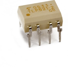 Фото 1/3 TLP521-2GB, Опто транзистор x2, 2.5кВ, 55В, 0.05А Кус=50...600% NBC [DIP-8]