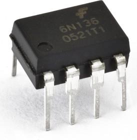 HCPL2630 (HCPL-2630), Оптопара двухканальная высокоскоростная 10 Мбит/с логическими уровнями на выходе [DIP-8]