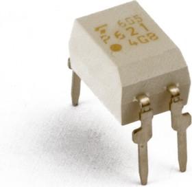 Фото 1/3 TLP627(F), Оптопара транзисторная (составной транзистор) [DIP-4]