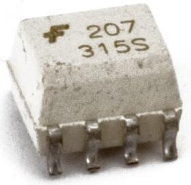 Фото 1/2 MOCD217M, Оптопара двухканальная с низким входным током, с транзисторным выходом [SO-8]