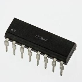 LTV847, Оптопара транзисторная [DIP-16]