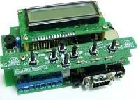 Фото 1/2 NM8036, Обучаемый модуль управления теплом и временем (микроконтроллер) - набор для пайки