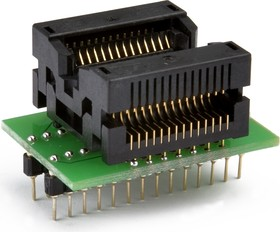 Фото 1/2 DIP-SOIC 24/28 pin 330 mil, Адаптер для программирования микросхем (=AE-SC28U1, TSU-TSU-D28/SO28-330)