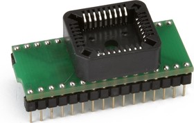 Фото 1/2 DIP32-PLCC32, Адаптер для программирования микросхем (=AE-P32-32)