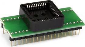 Фото 1/2 DIP40-PLCC44 PIC16/18, Адаптер для программирования контроллеров семейства PIC (=AE-P44-p16, TSS-D40/PL44-PIC)