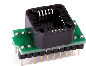 Фото 1/2 DIP20-PLCC20, Адаптер для программирования микросхем (=AE-P20U, TSU-D20/PL20)