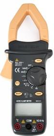 MS2101, Клещи токоизмерительные цифровые авто. ACA&DCA(ACV/DCV, сопр.,прозвон, частота,темп. скважность)