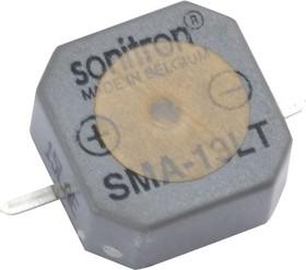 Фото 1/2 SMA-13LT-S, 13 мм, Пьезоизлучатель с генератором, SMD