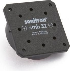 Фото 1/2 SMB-32CC-P10, 32 мм, Пьезоизлучатель с генератором