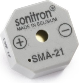 Фото 1/2 SMA-21-P10, 21 мм, Пьезоизлучатель с генератором