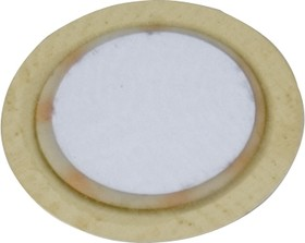 Фото 1/2 7BB-12-9, Пьезоэлектрическая диафрагма d=12мм 9кГц