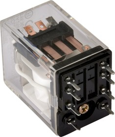 SCLB-P-DPDT-C 24VDC, Реле 2пер. 5A 250V