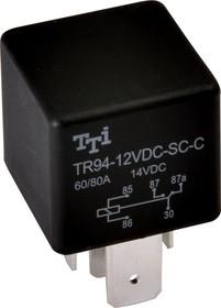 TR94-24VDC-SC-C, Реле 1пер. 24VDC / 80A, 14VDC