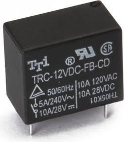 TRC-5VDC-FB-CD, Реле 1пер. 5V / 10A, 28VDC (OBSOLETE)