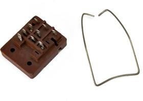 РП21-003 тип 1 (под пайку), Колодка для реле РП21