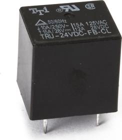 TRU-24VDC-SB( SC)-CD-R, Реле 1пер. 24V / 10A, 240VAC