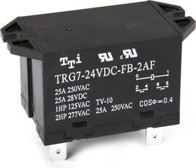TRG7-24VDC-FB-2AF-R (TRG7-1-24VDC-FB-2AF-R), Реле 2зам. 24V / 25A250VAC (OBSOLETE)