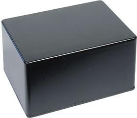 B029BK, Корпус для РЭА 140x100x75мм, металл, черный