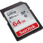 Фото 5/7 SDSDUNC-064G-GN6IN, Карта памяти SDXC 64 ГБ, Class 10
