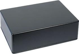 Фото 1/2 BS27BK, Корпус для РЭА 171x121x55мм, металл, герметичный, черный