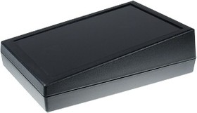 G1188BUL, Корпус РЭА 134х189х32/54мм, пластик, черный, термостойкий