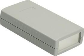 Фото 1/2 G407A, Корпус для РЭА 120х60х30мм, пластик, темно-серый, алюминиевая панель
