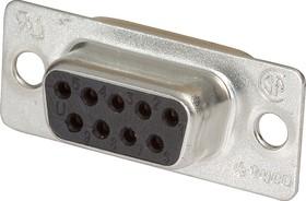 Фото 1/2 5-747905-2 (DB- 9F), Гнездо 9 pin на кабель (пайка)
