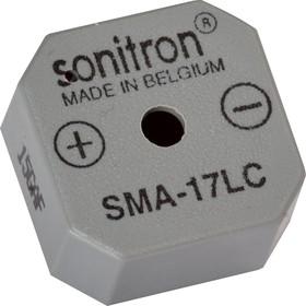 Фото 1/2 SMA-17LC-P10, 17 мм, Пьезоизлучатель с генератором