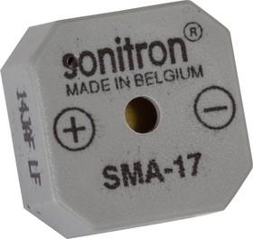 SMA-17-P7.5, 17 мм, Пьезоизлучатель с генератором