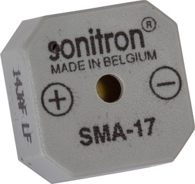 SMA-17LT-P10, 17 мм, Пьезоизлучатель с генератором