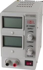 HY1505D, Источник питания, 0-15V-5A 2xLCD