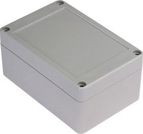 Фото 1/4 G2104, Корпус для РЭА 120х80х55мм, пластик, светло-серый
