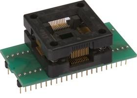 DIP44-PQFP44, Головка контактная , ZIF 13.2x13.2 mm