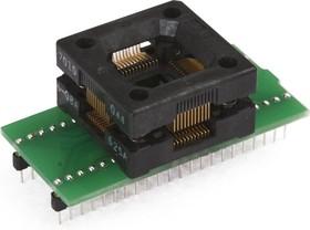 Фото 1/3 DIP44-TQFP44 12x12 mm [ZIF, Open top, Wells], Адаптер для программирования микросхем (=HTQ4408)