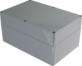 Фото 1/2 G3019, Корпус для РЭА 240х160х120мм, пластик, темно-серый