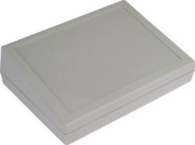 Фото 1/4 G1183G, Корпус для РЭА 189х134х32/54мм, пластик, серый