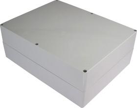 G2038, Корпус для РЭА 300х230х111мм, пластик, светло-серый