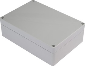 Фото 1/3 G214, Корпус для РЭА 171х121х55 мм, пластик, светло-серый
