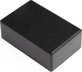 Фото 1/2 G1020B, Корпус для РЭА 83х54х30мм, пластик, черный