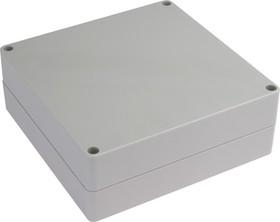 Фото 1/2 G287, Корпус для РЭА 160х160х60 мм, пластик, светло-серый