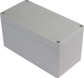 Фото 1/3 G265, Корпус для РЭА 160х80х85 мм, пластик, светло-серый