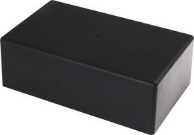 Фото 1/3 G1034BA, Корпус для РЭА 151х90х50.9мм, пластик, черный, алюминиевая панель