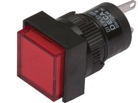 D16PLS1-000CR, Индикатор красный 28В/40мА