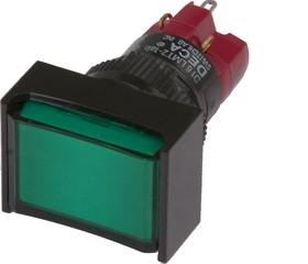 D16LMT2-1abKG, Кнопка с подсветкой 250В/5А